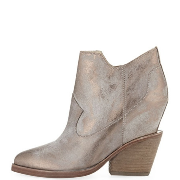 ASH Lula Distressed Ankle Bootie